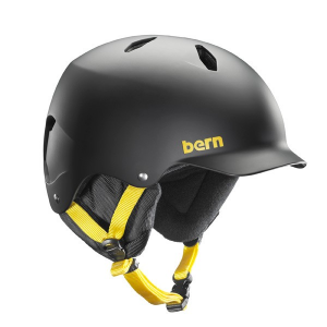 Ok hear us out on this one. Bern makes some of the best bike helmets out there and while the Bern Bandito is in fact a snow helmet, our best bet is that you'd much rather have this one on your dome in those frigid temperatures