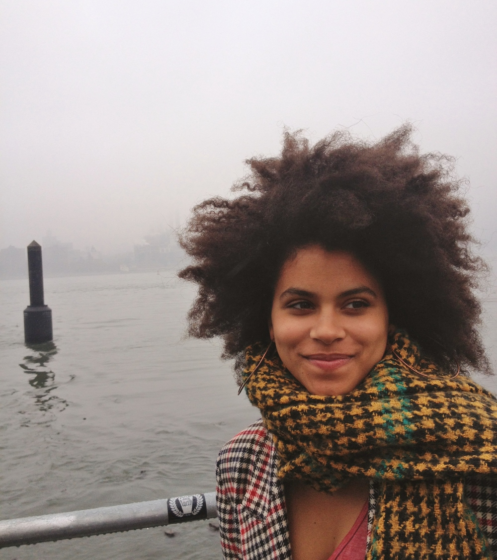 Zazie Beetz East River