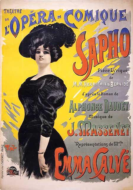 Poster of Emma Calvé's show