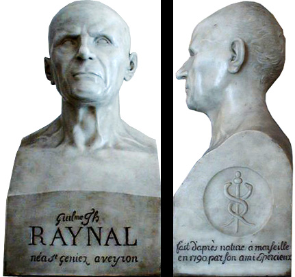 Statue of the Abbot Raynal