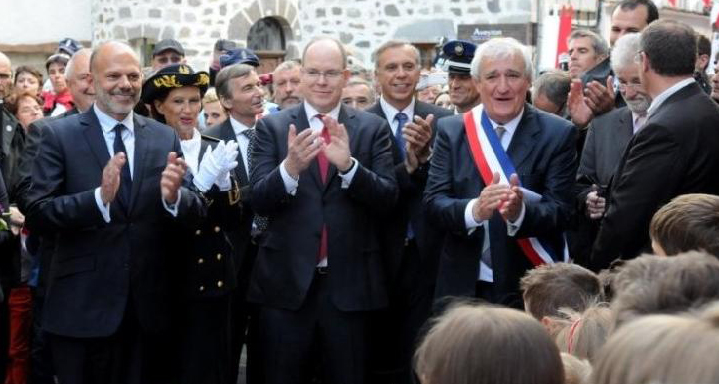 Albert II of Monaco during his 2014 official visit