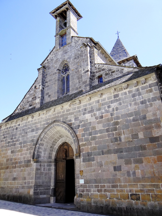 The church, Saint-Thomas de Canterbury, Mur-de-Barrez