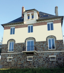 The Baraqueville home