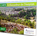 Since 2012,Véronique holds the official title of Aveyron Ambassador