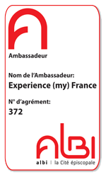 Véronique holds the official title of Albi Ambassador since 2013