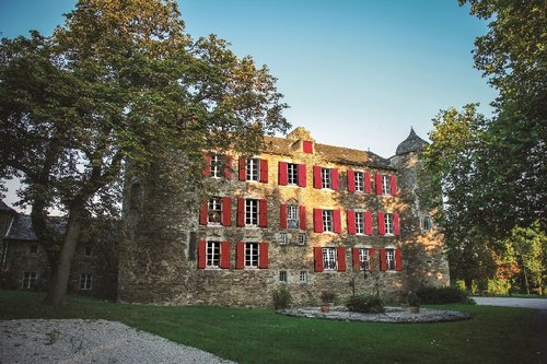 Château du Bosc, Aveyron, where Toulouse-Lautrec spent his childhood. Numerous of his early illustrations and paintings are kept in the château, not at the museum in Albi.