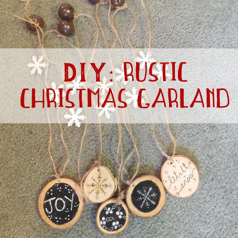 Diy Handmade Rustic Christmas Garland Beth Ann Erickson Designs
