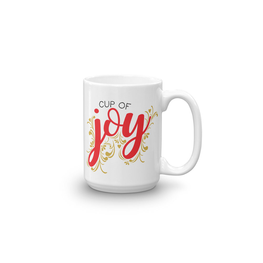 Cup Of Joy Personalized Coffee Mug