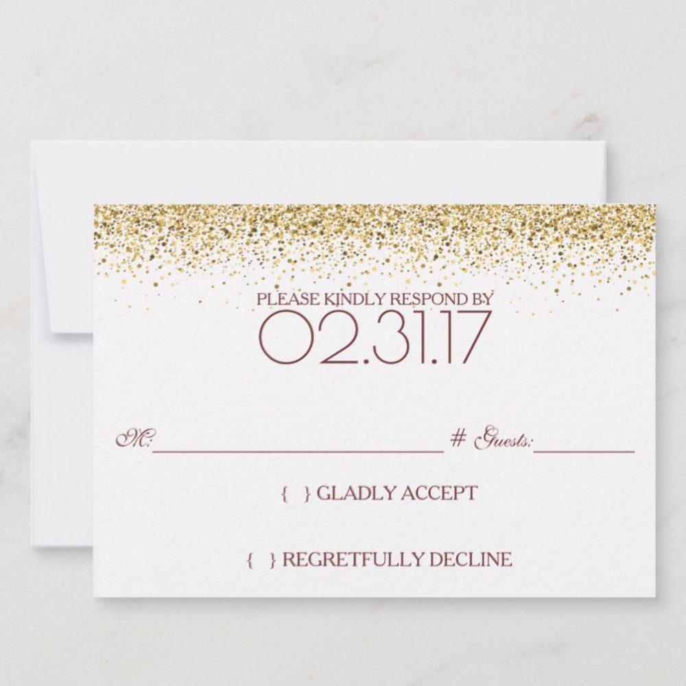 Rise and Shine RSVP Brunch Wedding Back