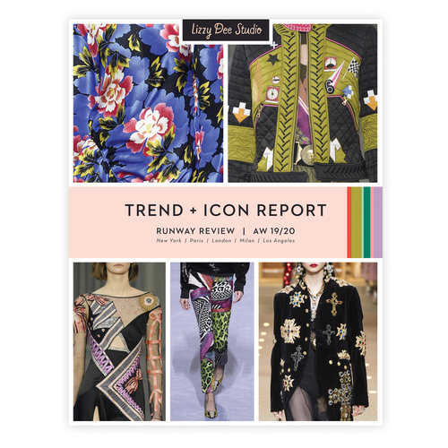 Trend Icon Report Aw 19 20 Pdf Lizzy Dee Studio
