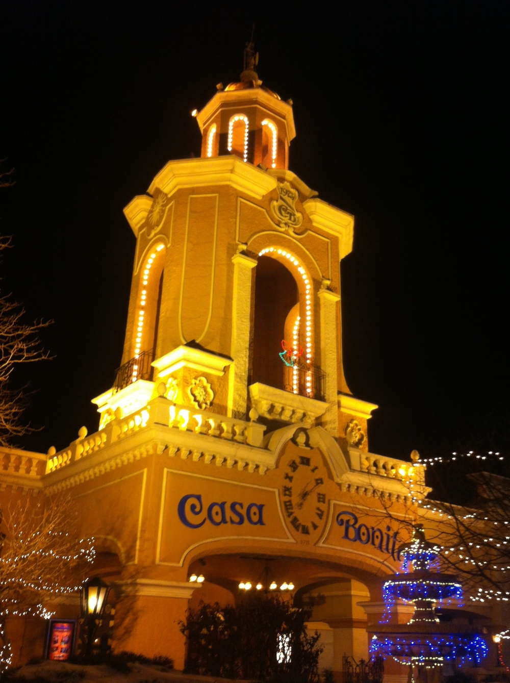 1. Casa Bonita; The worlds most exciting restaurant / The Disneyland of Mexican eateries!! Founder Bill Waugh opened the first Casa Bonita restaurant in Oklahoma, in 1968. By the mid-1970s, the chain had expanded to locations in adjacent states; the Denver restaurant (1974) is the last stand of the Casa Bonita Empire On the top of Casa Bonita's facade there is a copy of the sculpture of Cuitlahuac, the original one is situated in Paseo de la Reforma in Mexico City.