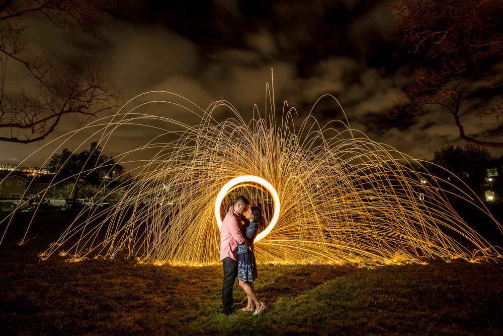 Their love is as explosive as....burning grade 0 steel wool :D