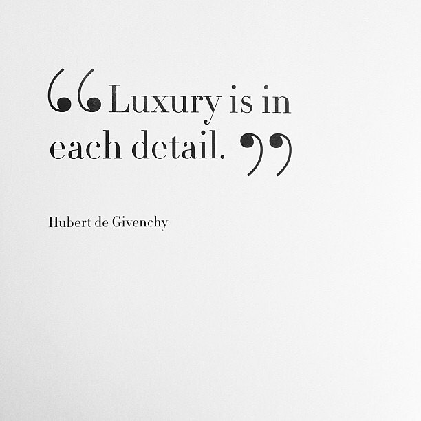 Luxury is in each detail. - #hubertgivenchy #RIPGivenchy