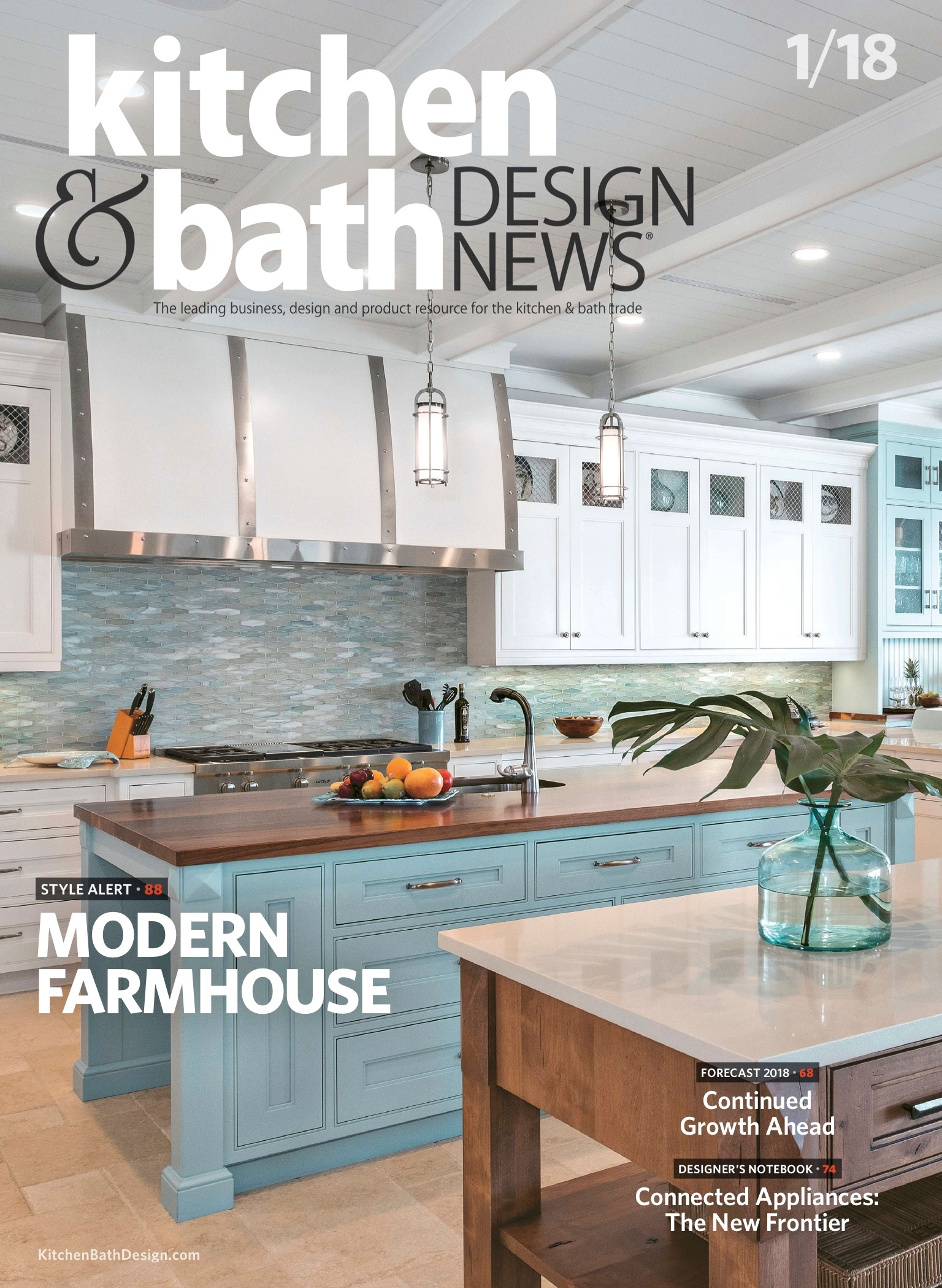 Kitchen And Bath Design News January 2018 Stalburg Design