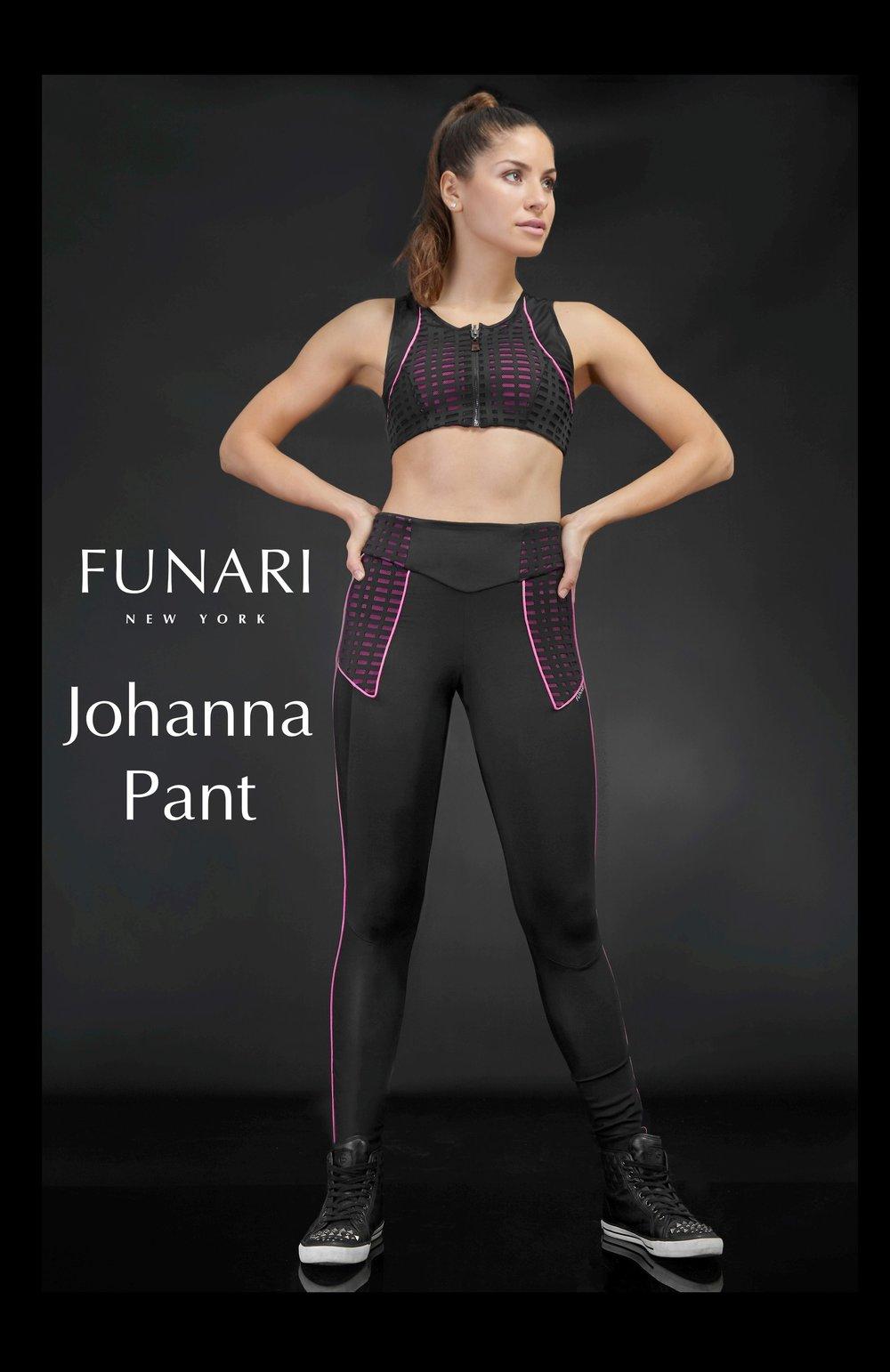 Johanna Pant - Pink Passion