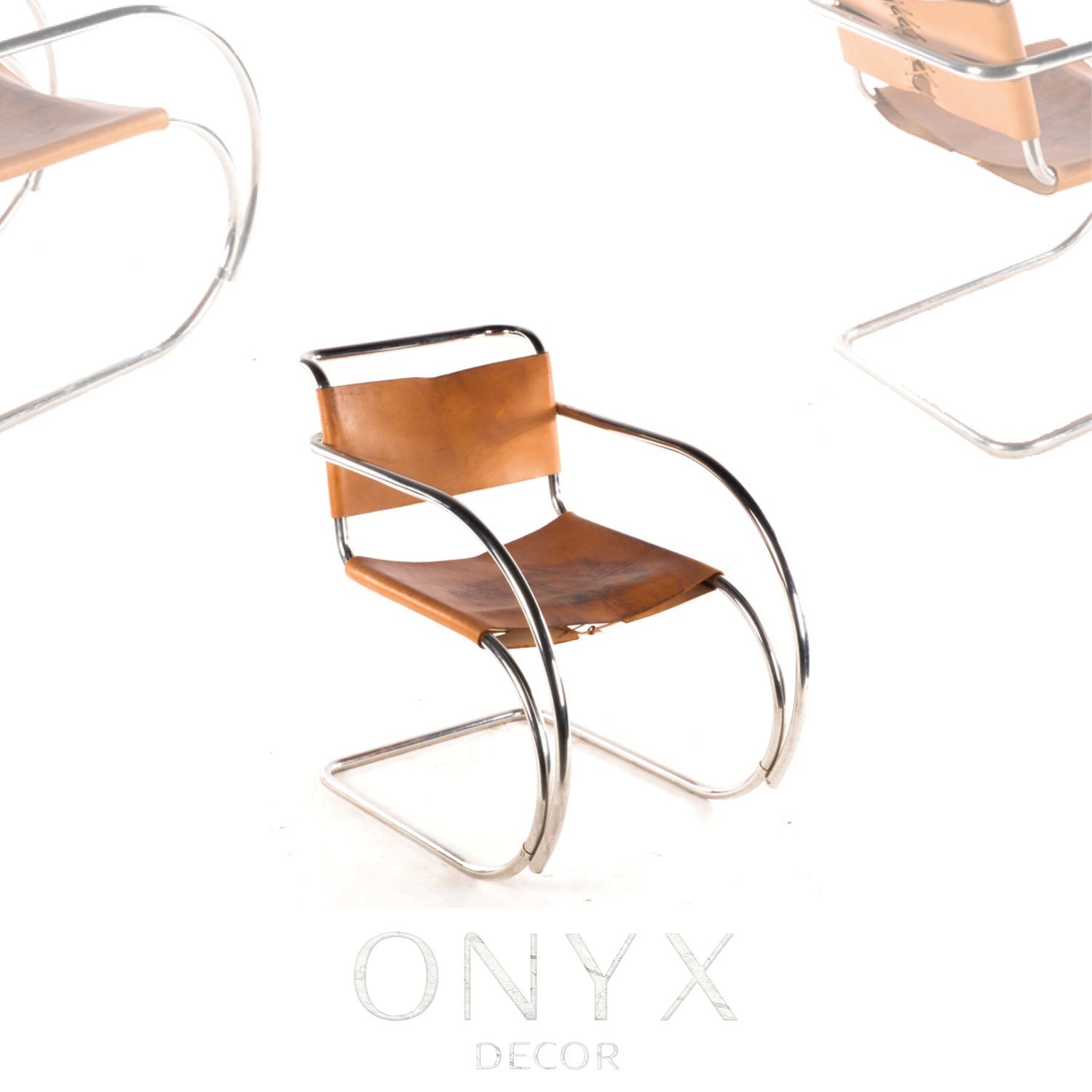 Mr Chair With Arms By Mies Van Der Rohe O N Y X