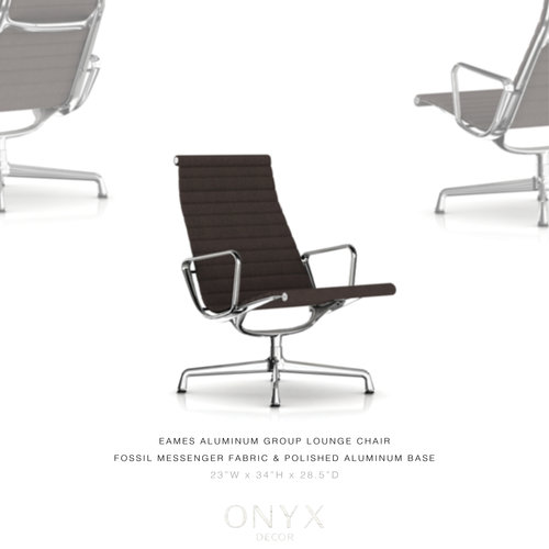 Eames Aluminum Group Lounge Chair O N Y X