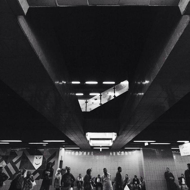 #vscocam #cairo #metro