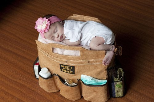 (via  Fancy - Daddy Builder Diaper Bag )