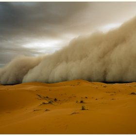 """(via  500px / Photo """"Sandstorm!"""" by Peter Vruggink )"""
