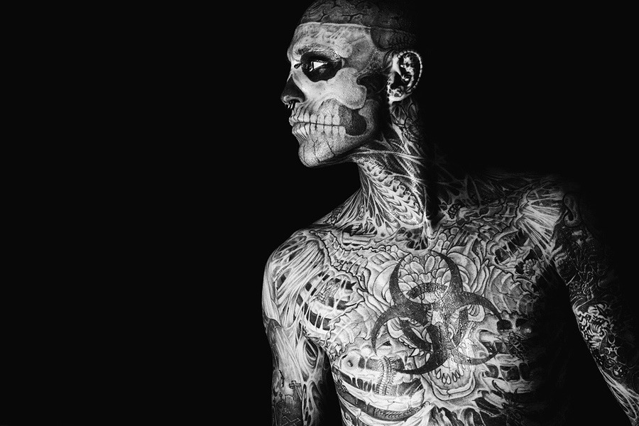 Rick Genest (Zombie Boy)  by  Kirill Stepanov