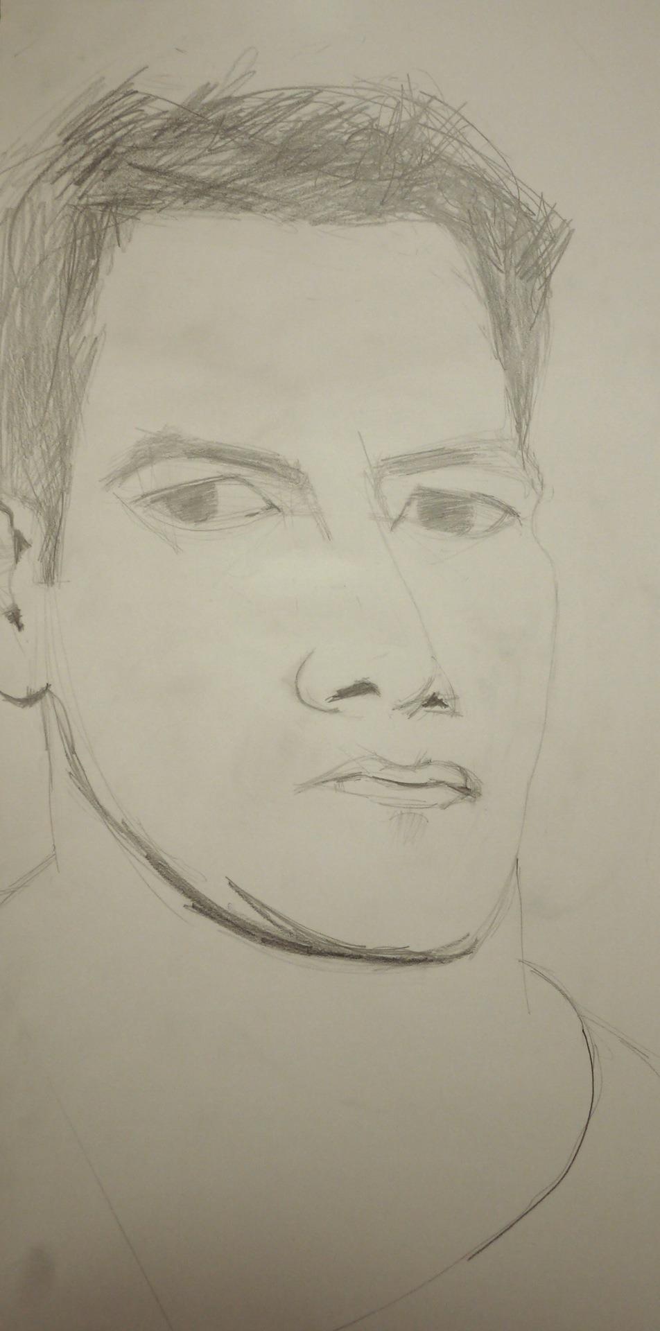 Self-Portrait Challenge - Day 5