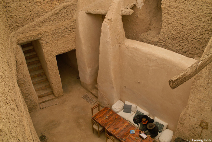 amollayoung :     Cafe in Siwa Oasis , Egypt