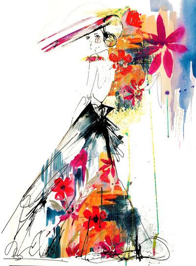 (via  Enchant Art Print by Holly Sharpe | Society6 )