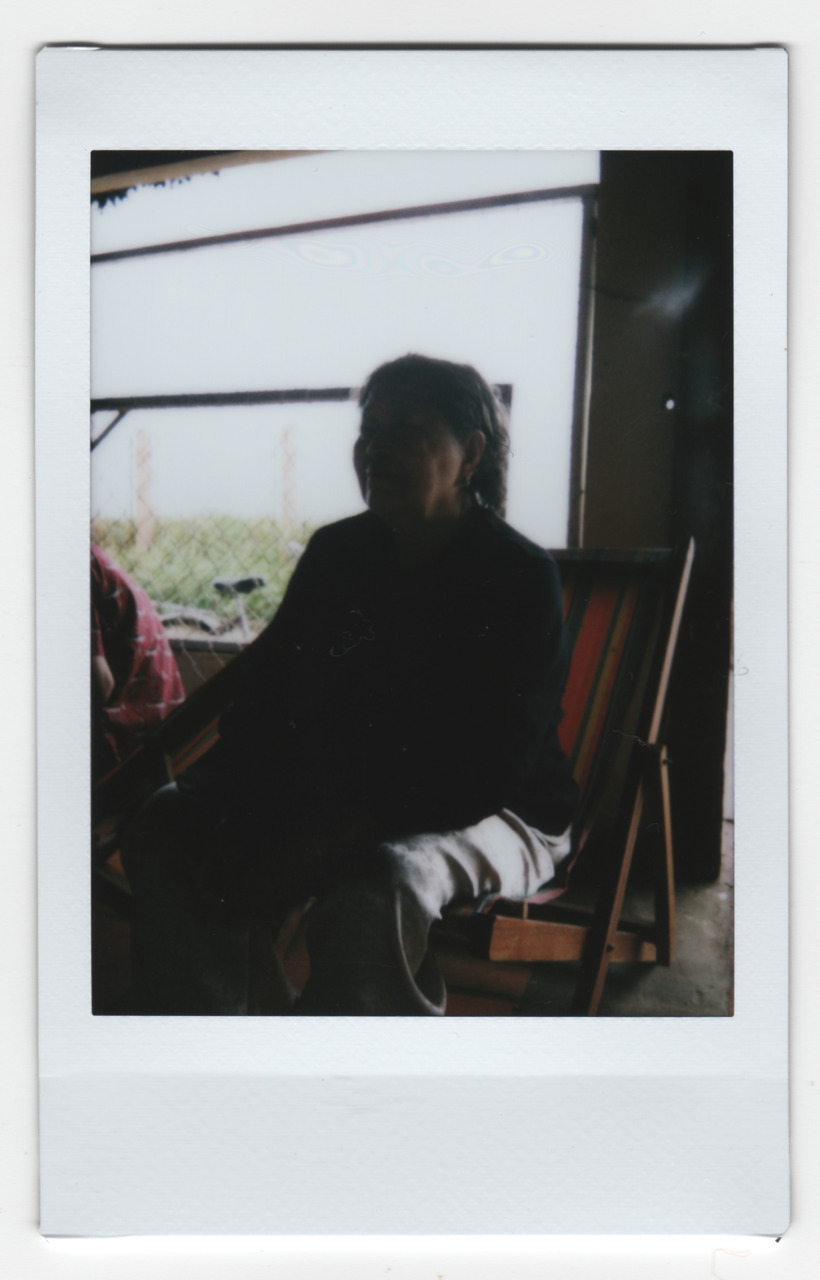 tonyluong :     Grandmother, Vietnam, 2011   —   I bought a Fuji Instax 50s to give polaroids as thank-you's to people in Vietnam. Here are some others that weren't given away.
