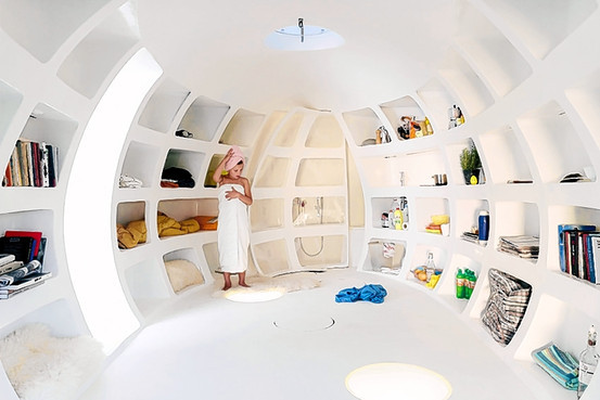 "pretty amazing -    theoriginalchingy :       Living Within Less  - """"Nano House: Innovations for Small Dwellings"" (Thames & Hudson), by Phyllis Richardson, focuses on homes under 800 square feet from around the world. Some are just prototypes, but many are in actual use…""   via  WSJ ."