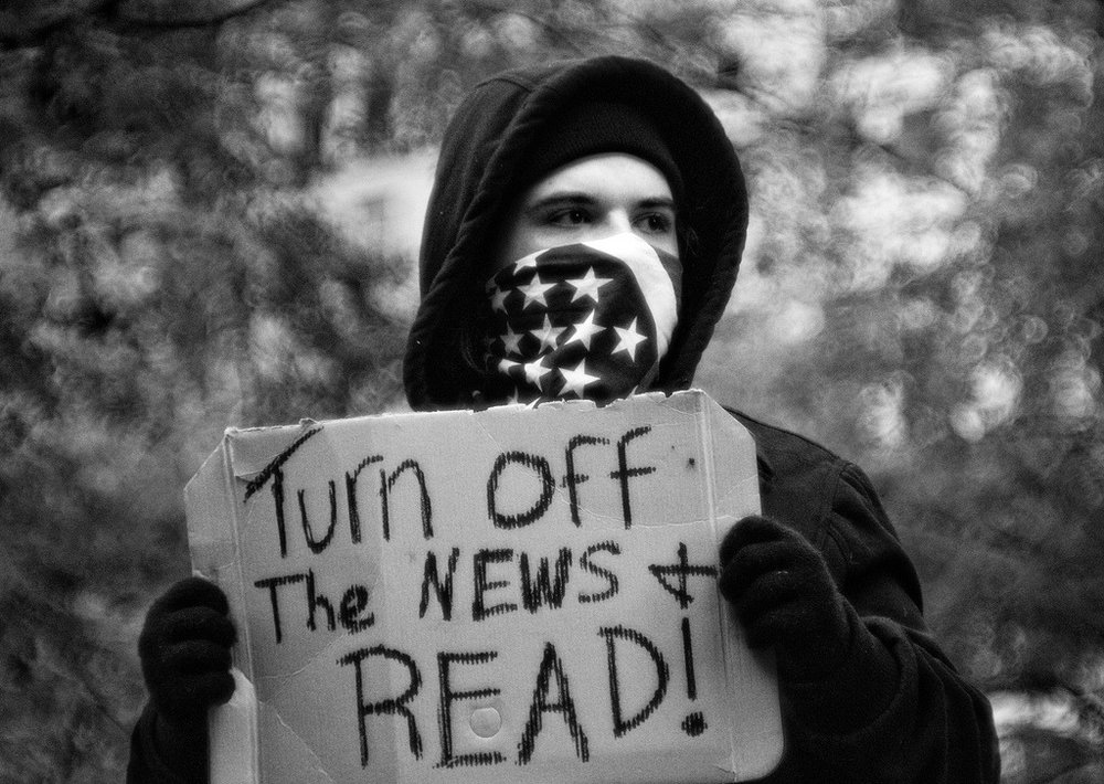 Turn off the news & READ!