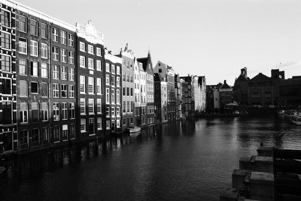 Amsterdam, across from central station