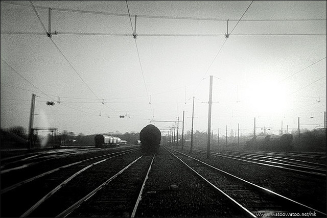 the last train - 2  by  mkorchia  on Flickr.
