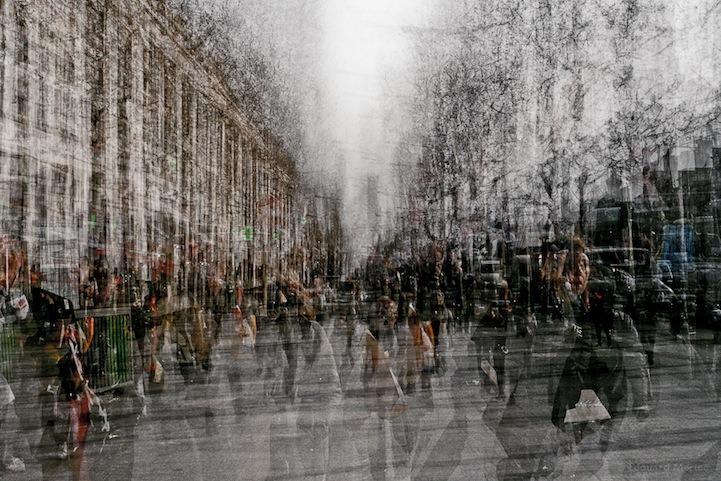 kilyoum :     Intense Energy of Parisian Crowds by Edouardo Mortec