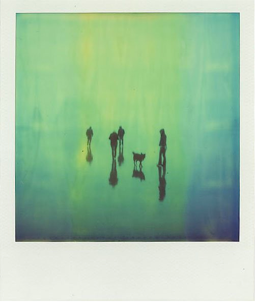 photojojo :      Mikael Kennedy , from his series,  Shoot the Moon   , a collection of SX70 Polaroids of his six-year adventure around the US.      This post is by  Kateoplis  as part of Photojojo's  Show & Tell week .