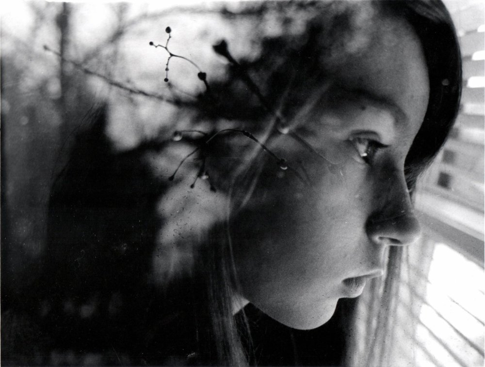 another idea for depicting memories: double-exposures    film-photography :      Chamelion  by  kalizamill .
