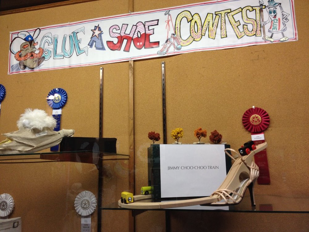 The Glue a Shoe Competition at the State Fair of Texas Photo: Lisa Stewart Photography