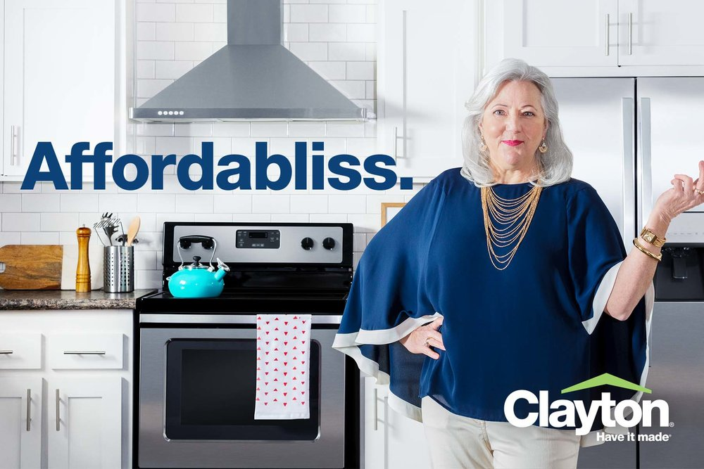 Part of the Clayton Homes Have it Made® Ad Campaign