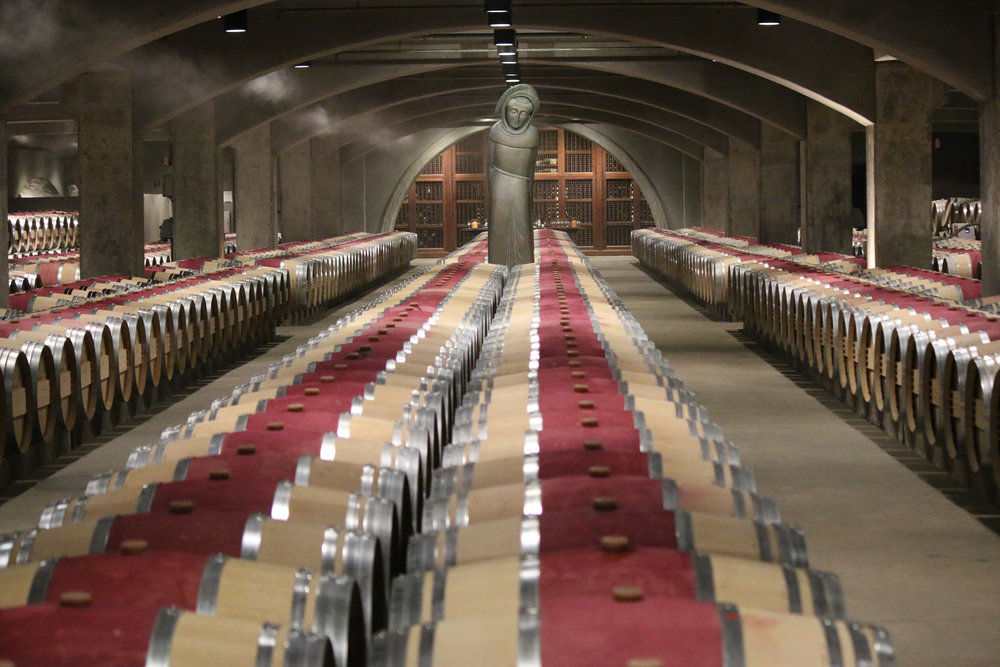 The Mondavi Winery in Napa Valley