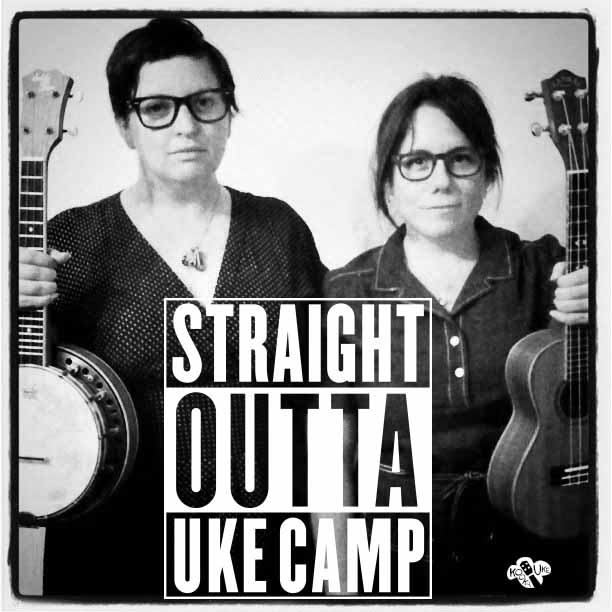 I spent 30 minutes making the Straight Outta Uke Camp in Illustrator and then found out there is an app for it.