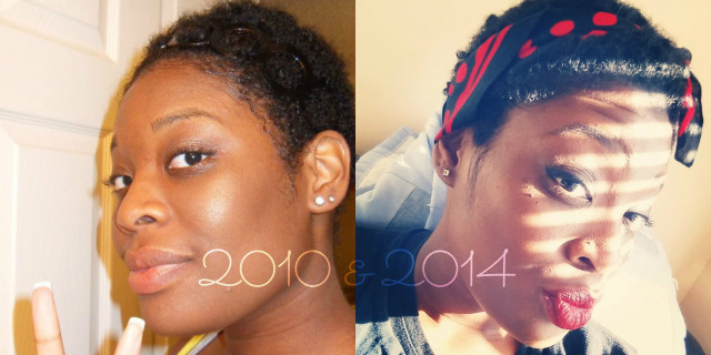 What has changed since my big chop? Well for starters, I'm not all about my hair. In the last post I mention I was all about my hair at first. I can't stay the same this time again. Top 3 things I've notice I got bored after my big chop. After I cut my hair I still felt like there was something missing or needed to make this chop complete. I decided to COLOR my hair! This is huge for me because when I went natural the first time I was too afraid to add color. Which was odd because I had colored my relaxed hair with no hesitation. I thought I would damage my hair because I had no knowledge about natural hair and the color process.  I would see other girls with these beautiful and vibrant colors and I wanted try it out for myself. Well, I went for it and got my hair colored and it was a huge fail…yes ANOTHER hair disaster! I wanted to do a honey brownish color but the stylist talked me out of it and said I should go with red, and I really liked the idea. When I removed the towel it was RED!