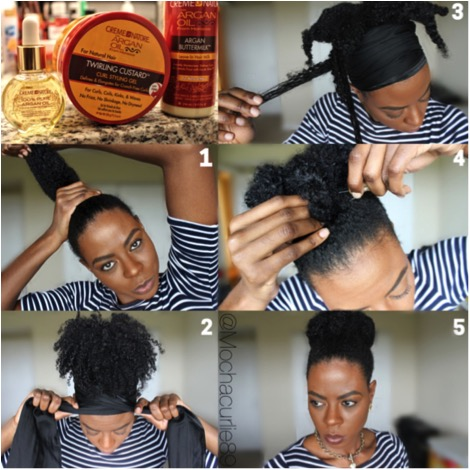 Pictorial Twisted Bun By Mochacurlie89 I Am Team Natural