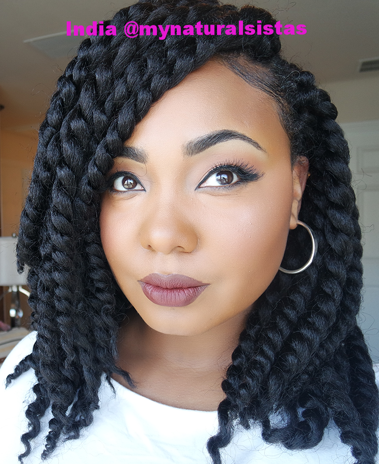 Protective Style Crochet Braids I Am Team Natural