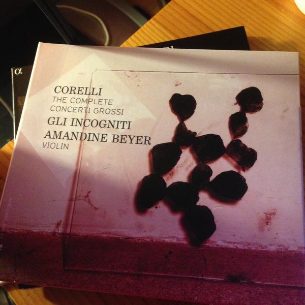 Amandine Beyer takes on Corelli's Concertos
