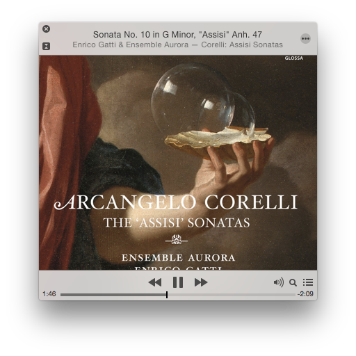 Ensemble Aurora led by violinist Enrico Gatti performs violin sonatas by Arcangelo Corelli.
