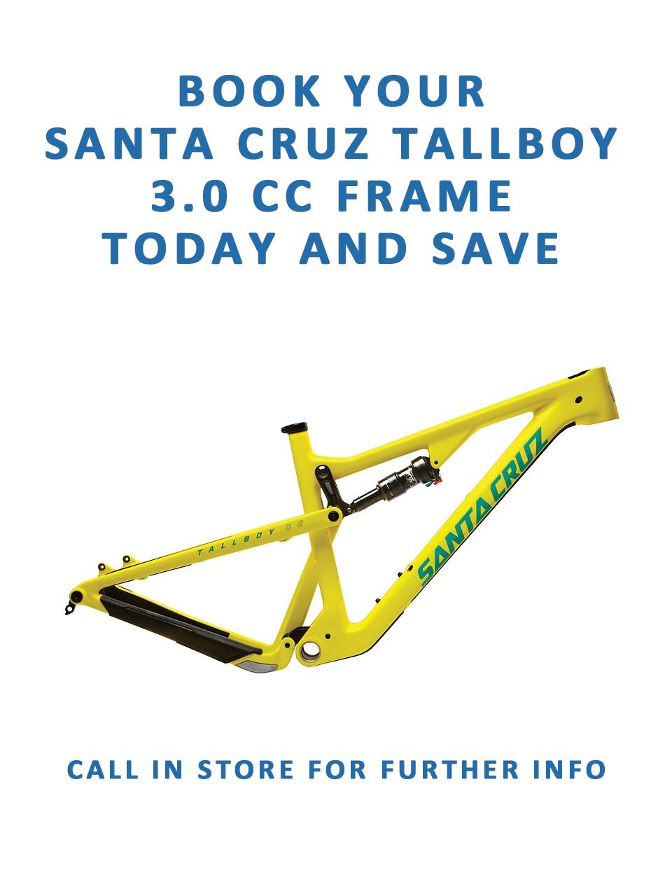 This week\'s featured product: Santa Cruz Tallboy 3.0 cc frame — Greg ...