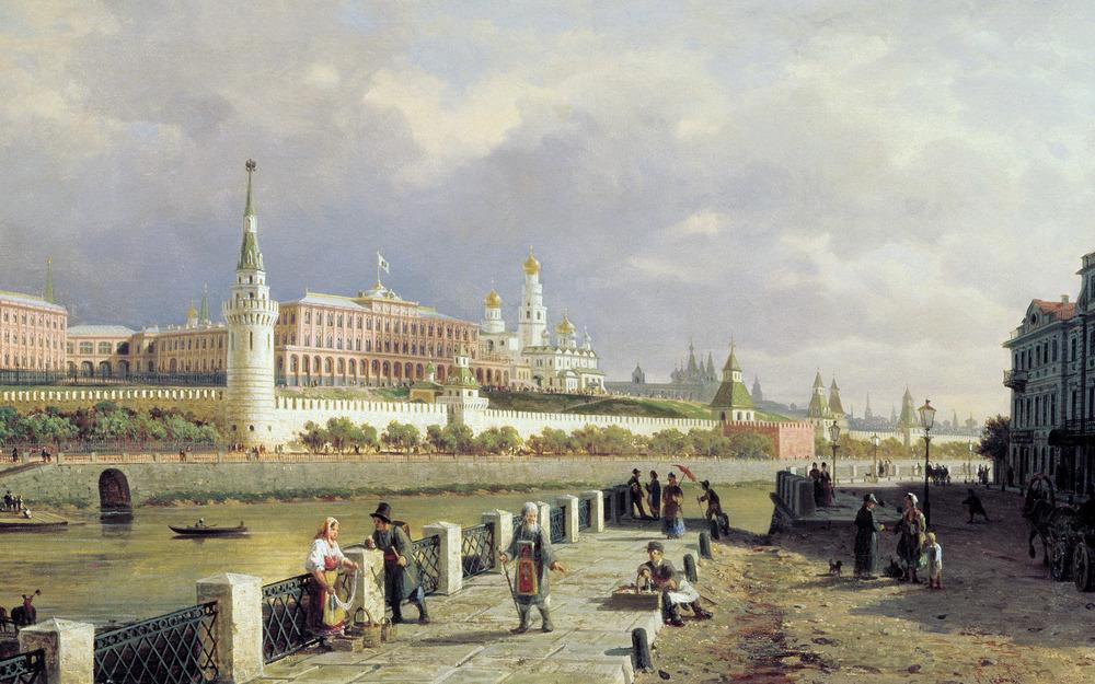Pjotr Veresjtsjagin - Het Moskouse Kremlin (1879)