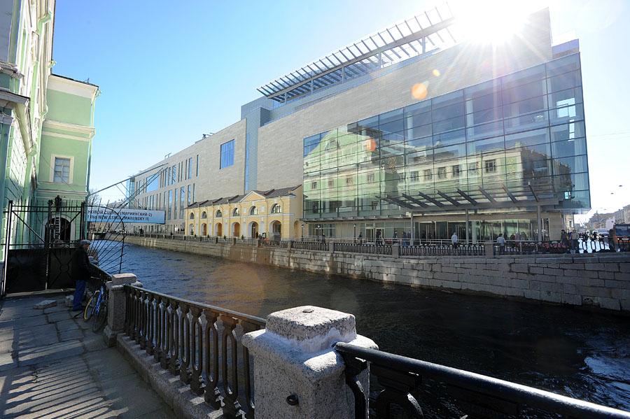 1 - Tweede gebouw Mariinski Theater