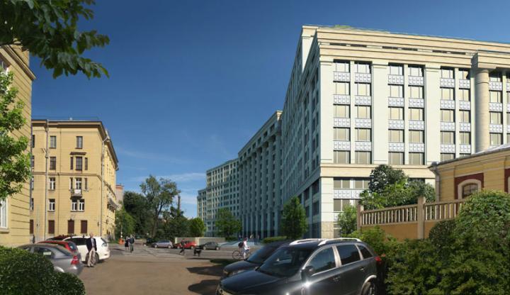 3 - Woningcomplex Aleksandrija, Novgorodskaja Ul. 23