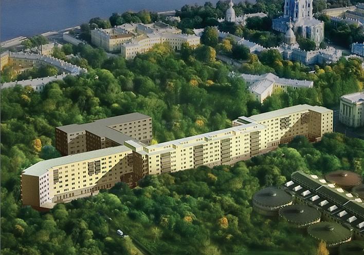 8 - Woningcomplex Smolny Park, Ul. Smolnogo 4